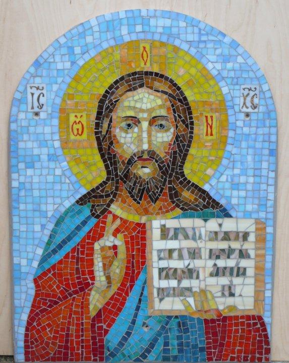 Икона из мозаики своими руками 57